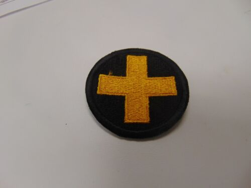 Military Shoulder Patch Colored Sew On Korea Medical Command