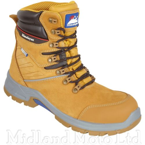 Himalayan Waterproof Safety Composite Toe Cap S3 Nubuck Leather Work Boots 5211
