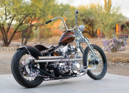 2019 Custom Built Motorcycles Chopper  old school retro chopper motorcycle big twin suicide shift Patrick Racing 113