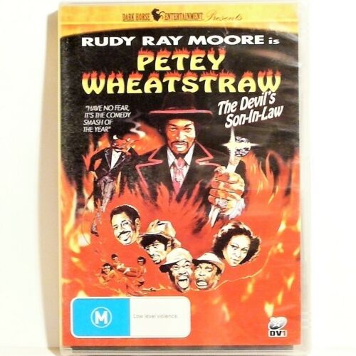 "THE DEVIL'S SON-IN-LAW PETEY WHEATSTRAW DVD PAL ""NEW AND SEALED"" AUZ SELLER"