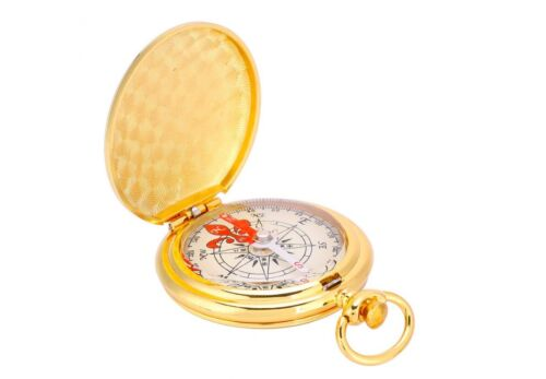 Replica Old Vintage Antique Pirate Simple Pocket Naval Maritime Compass Scouts