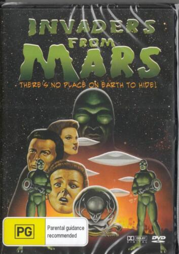 INVADERS FROM MARS - NEW & SEALED REGION 4 DVD FREE LOCAL POST