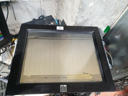 """TYCO ET1537L-7CWA-1-NPB-G 15"""" LCD TOUCH MONITOR W/ POWER SUPPLY (R6S9.5)"""