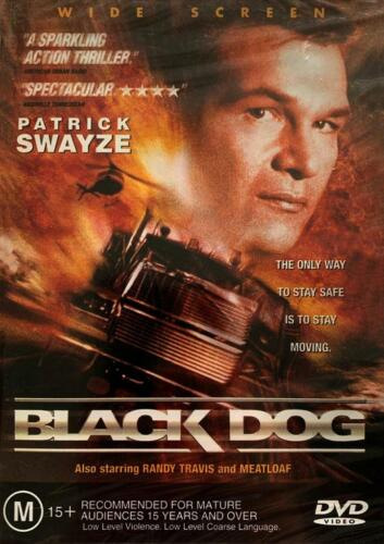 BLACK DOG - PATRICK SWAYZE - NEW & SEALED REGION 4 DVD FREE LOCAL POST