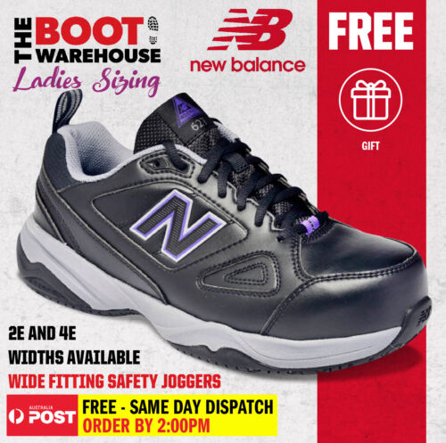 New Balance Women's '627' Steel Toe Safety Shoe Sneaker - Wide 'D' Fitting <br/> DESIGNED FOR WOMEN WHO WORK ON THEIR FEET!