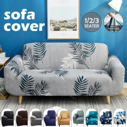 Sofa Covers 1/2/3 Seater Stretch Lounge Slipcover Protector Couch Washable
