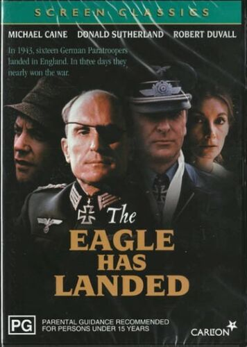 THE EAGLE HAS LANDED - CAINE & SUTHERLAND - NEW & SEALED REGION 4 DVD