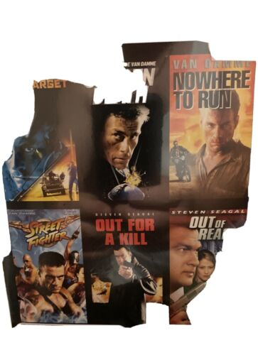 Hard Target / Sudden Death / Nowhere to Run / Street Fighter / Out for a Kill