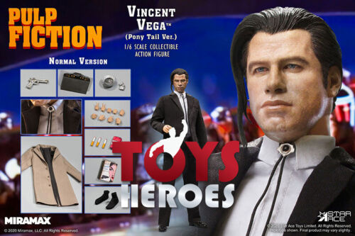 STAR ACE PULP FICTION VINCENT VEGA 2.O PONY TAIL NORMAL VERSION Preorder Coupon