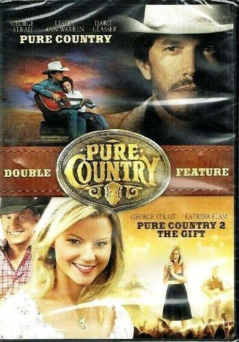 PURE COUNTRY & PURE COUNTRY 2 THE GIFT - NEW & SEALED DVD FREE LOCAL POST