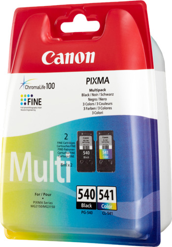Originale Canon Multipack nero / differenti colori PG-540 + CL-541 5225B006
