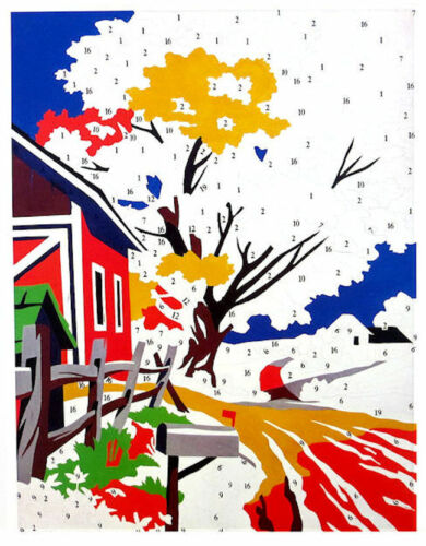 ANDY WARHOL Do It Yourself Landscape Official Authorized Litho Print