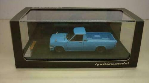 Ignition Model 1/43 Minicar Nissan Sunny Camion Long Bleu Clair Tk. Compagnie *