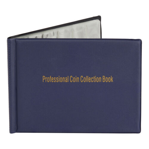Juvale Coin Collection Holder Album Book for Collectors, Holds 240 Coins <br/> HIGH QUALITY√US STOCK√FAST SHIPPING√TOP US SELLER√