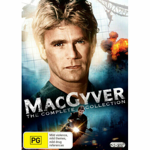 MacGyver (1985): The Complete Collection (Seasons 1 - 7) DVD NEW (Region 4)