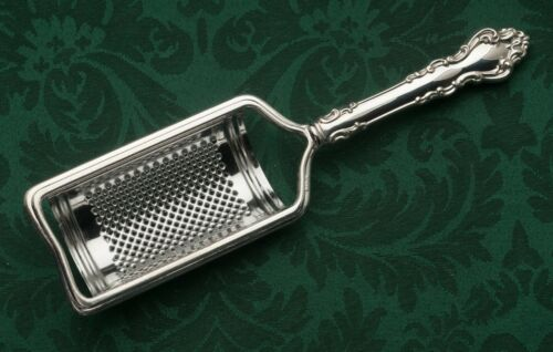 Spanish Baroque by Reed & Barton Sterling Parmesan Cheese Grater, NEW