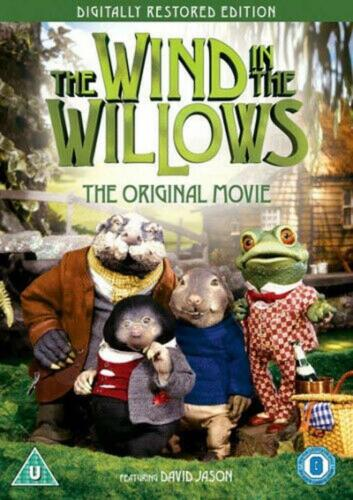 WIND IN THE WILLOWS - KENNETH GRAHAM - NEW & SEALED DVD - FREE LOCAL POST