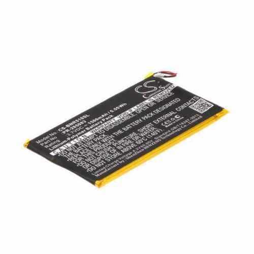 Battery For BARNES & NOBLE PR-285083