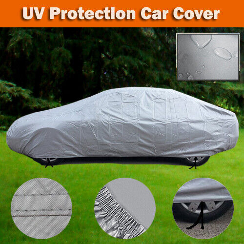 Brand New Car Cover Small Family Cars Full Storage Clean Care Waterpoof ZCH0S