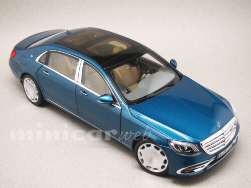 MERCEDES CLASSE S MAYBACH, voiture miniature 1/18e NOREV 183425