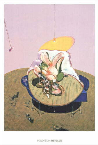Francis Bacon Lying Figure 1969 Offset Lithograph 39-1/4 x 27-1/2