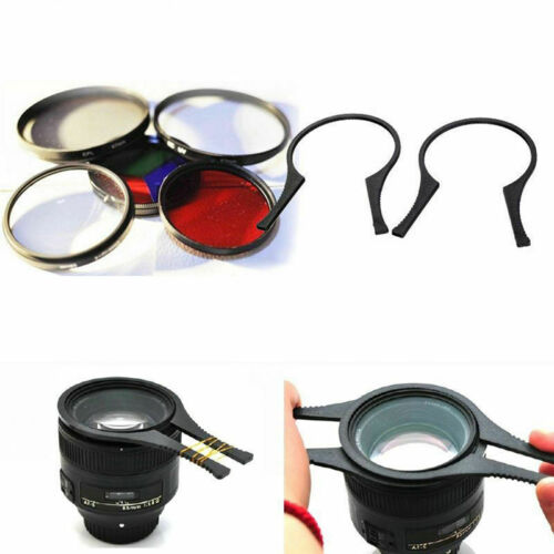 Camera Lens Filter Wrench Removal Tool Kit Set Lens Thread for Canon Nikon Sony