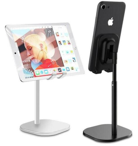 Universal Metal Telescopic Phone Holder Desk Stand For Apple iPad Samsung iPhone