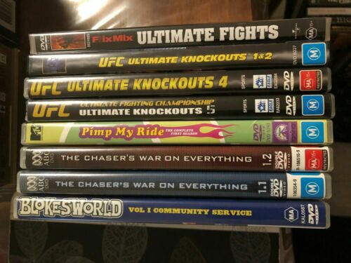 Various used DVD's, good condition, huge selection