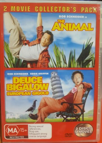 The Animal / Deuce Bigalow: European Gigolo - 2 Movie Collector's Pack (DVD, 20…