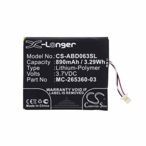 Battery For AMAZON kindle 499