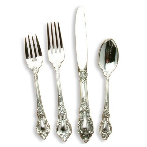 Eloquence by Lunt Sterling Silver 4 piece Place Setting, Dinner Size