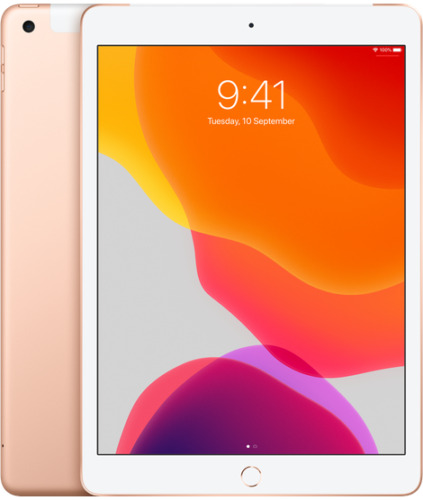 iPad 9.7 6th Gen 2018 32GB, Wi-Fi + Cellular, 9.7in Gold Support Apple Pencil