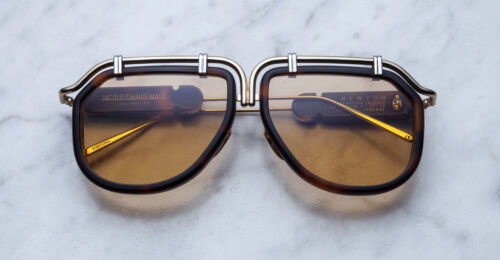 OCCHIALI JACQUES MARIE MAGE NEWTON HAVANA SUNGLASSES NEW AND AUTHENTIC