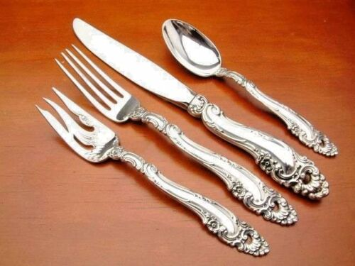 Decor by Gorham Sterling Silver 4 piece Place Setting Place Size