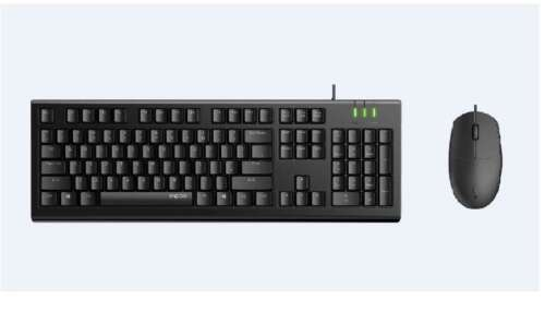 RAPOO X120 Pro - Wired Keyboard and Mouse Combo