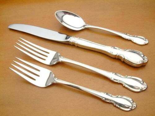 Legato by Towle Sterling Silver individual 4 piece Place Setting, gently used