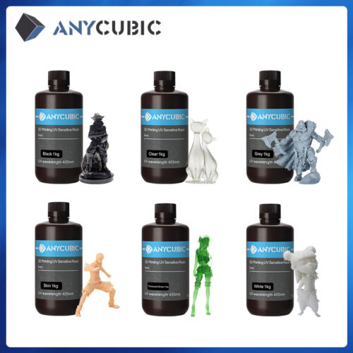 Anycubic 500g/1000g 405nm UV Sensitive Resin for SLA/LCD PHOTON 3D Printer US