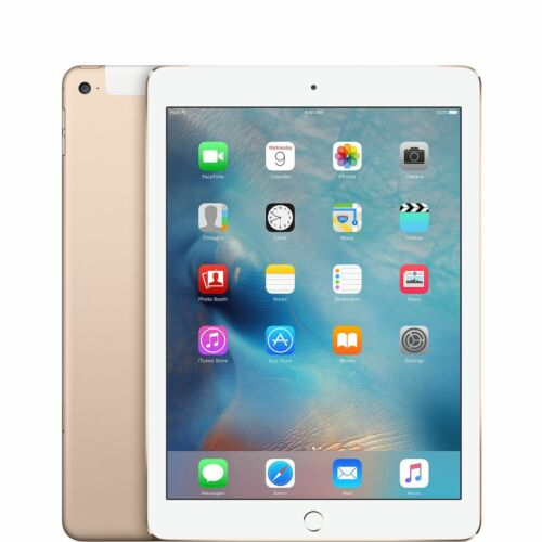 Apple iPad 5th Gen, 32GB, Wi-Fi + Cellular , 9.7in 2017 - GOLD iOS13