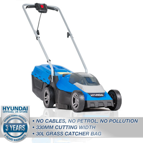 Cordless Lawnmower Roller Mulching 40V 330mm Lawn Mower Li-ion Battery & Charger <br/> ☑️3 YR WARRANTY☑️UK STOCK☑️UK AFTER SALES PARTS SUPPORT
