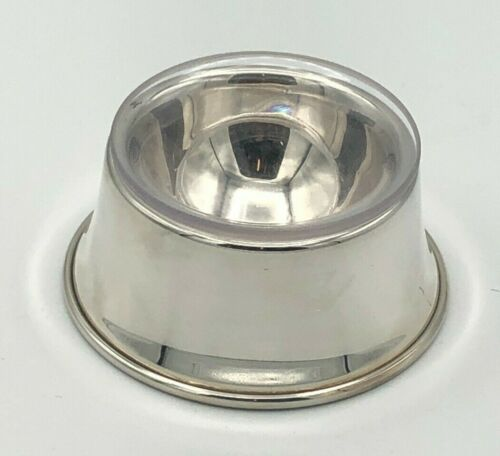 Willismsburg by Stieff Sterling Silver Trencher Salt Dish RT 31, with liner
