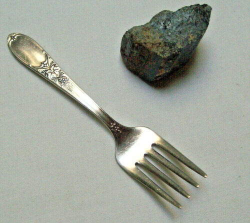 Wm Rogers IS Silverplate 1934 Burgundy Champagne Pattern 4 Inch BABY FORK