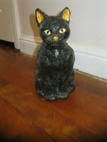 """HALLOWEEN TEENA FLANNER 9"""" BLACK CAT MIDWEST OF CANNON FALLS"""