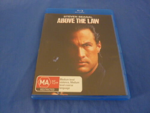 Above The Law - Blu-Ray