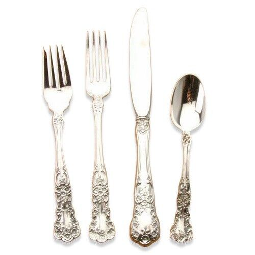 Buttercup by Gorham Sterling Silver 32 piece service for 8, Place Size