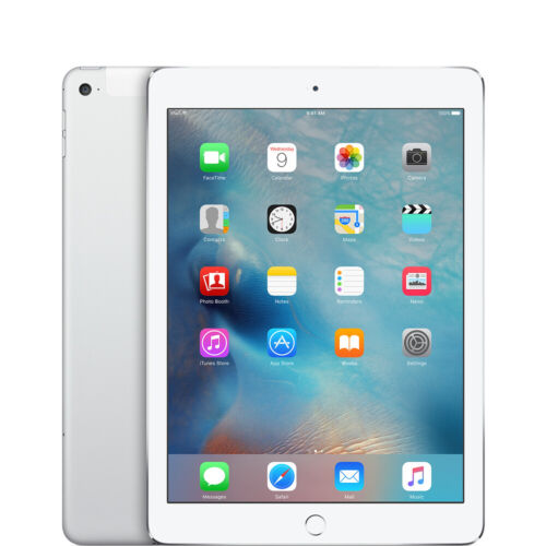 Apple iPad 5th Gen, 32GB, Wi-Fi + Cellular , 9.7in 2017 - SILVER iOS13