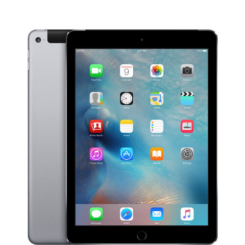 Apple iPad 5th Gen 2017 128GB, Wi-Fi + Cellular, 9.7in - SPACE GREY iOS13