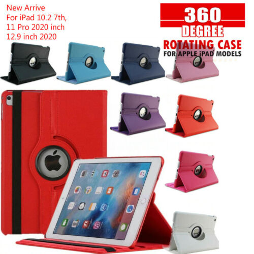 360 Rotate Leather Case Cover For Apple iPad 4/3/2 8th 7th 6th Gen Air1 2 Mini 5