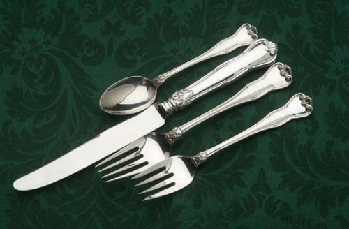 Provence Sterling Silver by Tiffany & Co. 4 piece Dinner size Settings