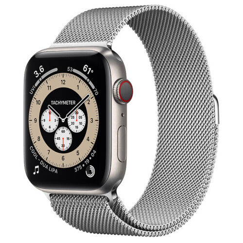 Apple Watch Series 6 Edition GPS + Cellular, 44mm Titanium Case with Milanese