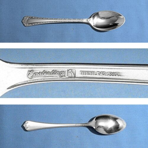 "EASTERLING STERLING 6"" TEASPOON(S) ~ ROSEMARY ~ NO MONO"